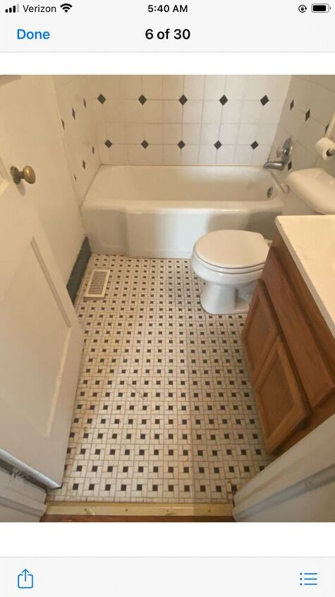 q make this bathroom updated