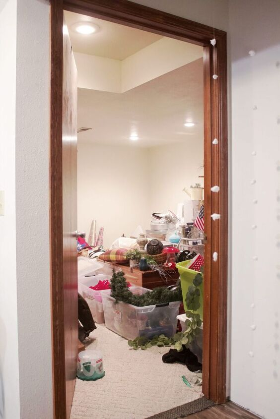 storage room tips for organization before and after