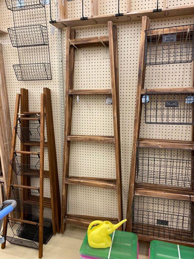 diy wood farmhouse ladder