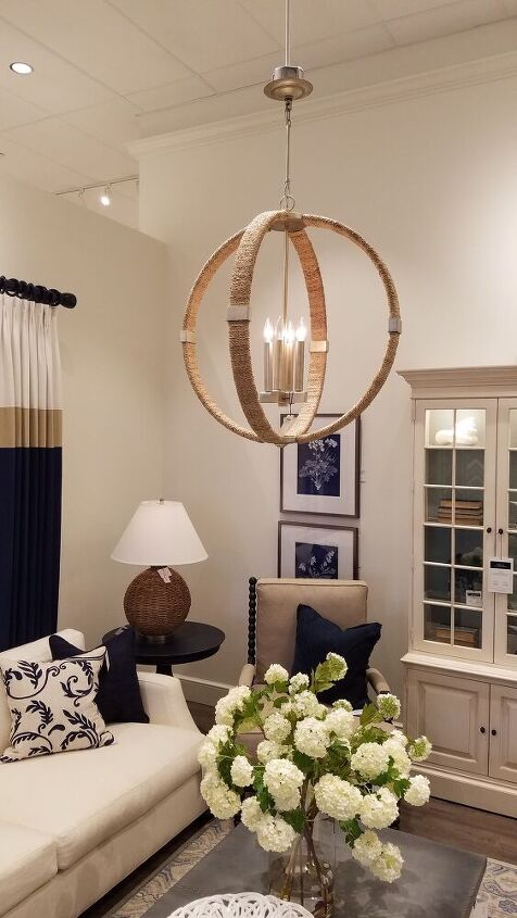 ethan allen chandelier knock off