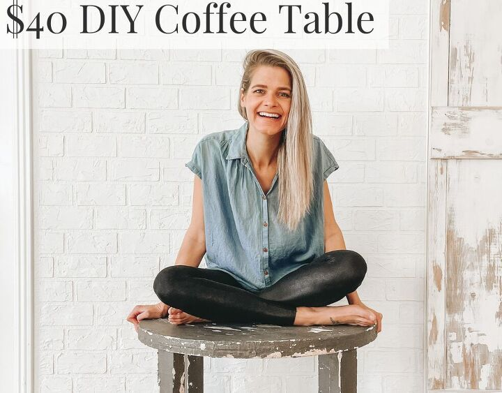 do it yourself coffee table on a small budget 40 for the win