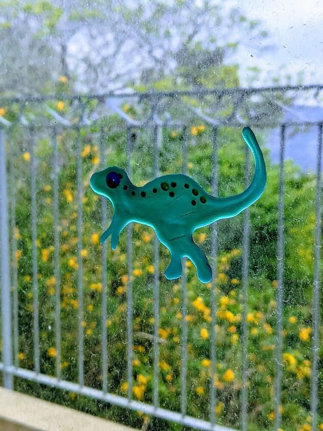 dinosaur window cling for the nursery