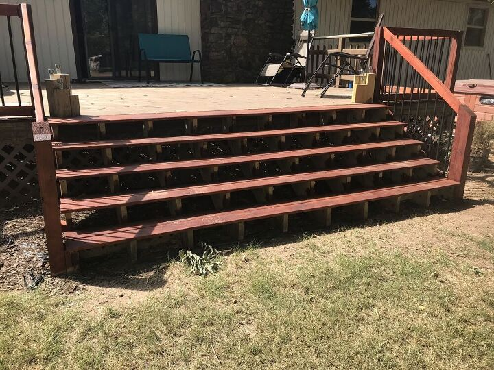 quick lights for my deck stairs you can put almost anywhere