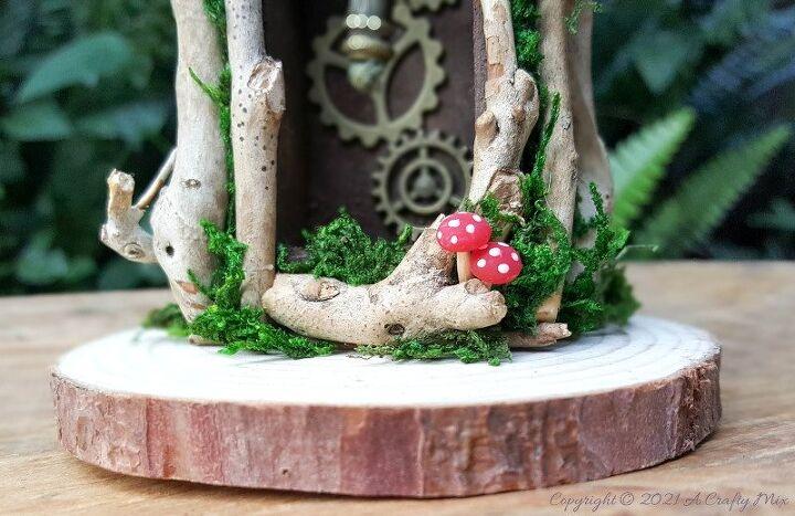 how to make teeny tiny mushrooms for your fairy garden