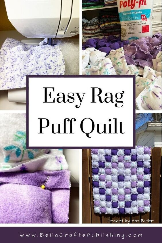 easy rag puff quilt in a weekend