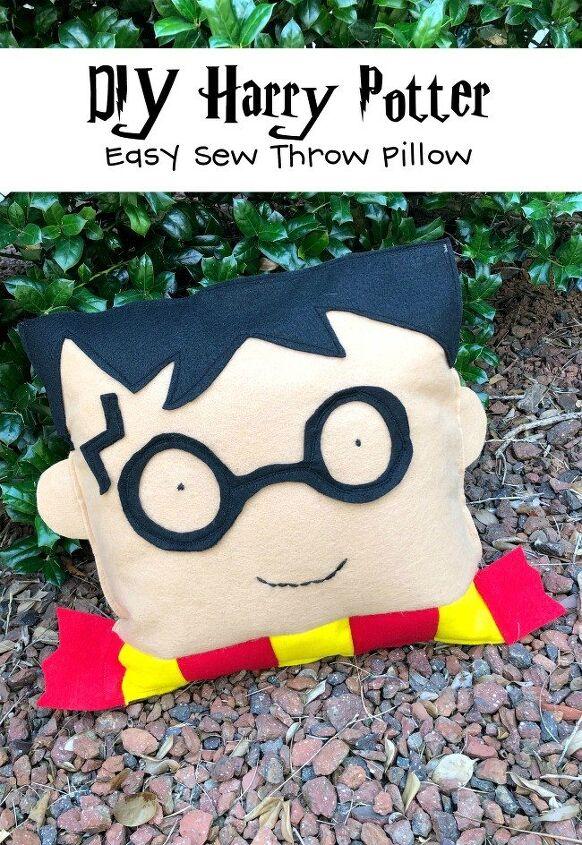 diy harry potter throw pillow