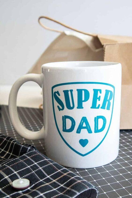 cricut diy super dad father s day mug