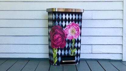 Tricked Out Trash Can