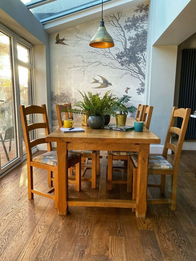 dining chair make over, Revamped Dining Chairs
