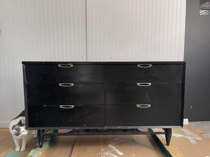 painted sunshine dresser, Before