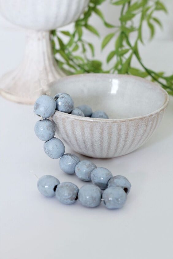 diy pottery barn inspired beachy beads