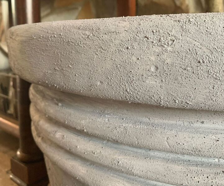 how to create a faux concrete paint finish