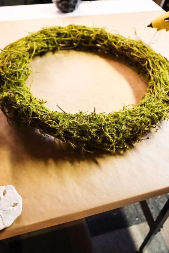 diy coastal wreath