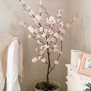 Faux Cherry Blossom Tree