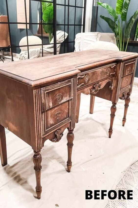 how to repair wood furniture before painting chalk paint desk