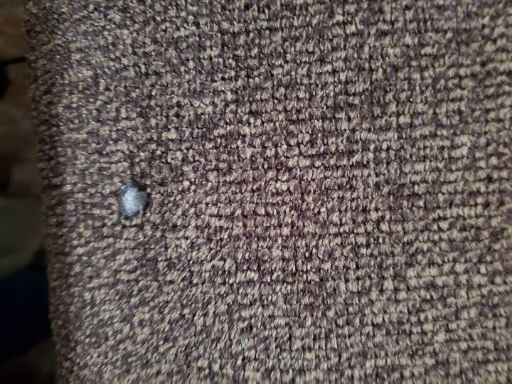 q repair couch cushion that has cigarette burns