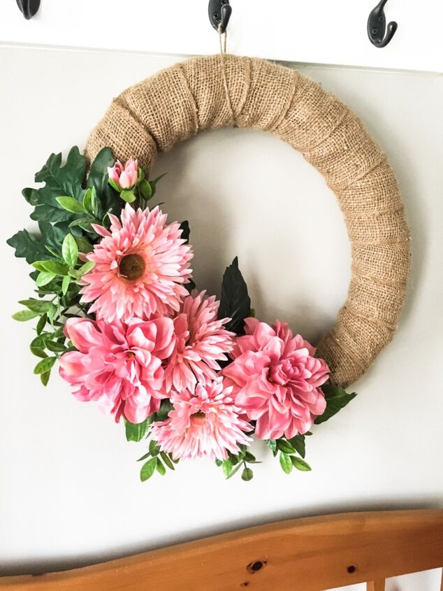 s 12 reasons why you should stock up on pool noodles right now, Hang a beautiful spring wreath
