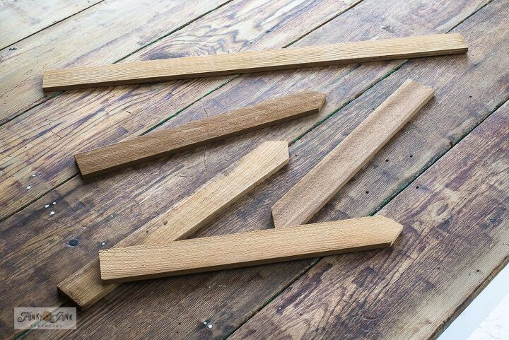 add instant charm to your yard with easy to make garden labels, Preparing the cedar strips