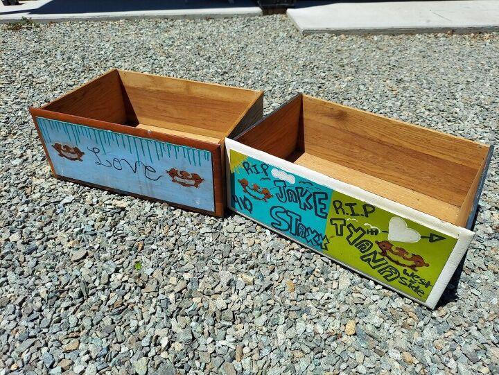 drawer planters