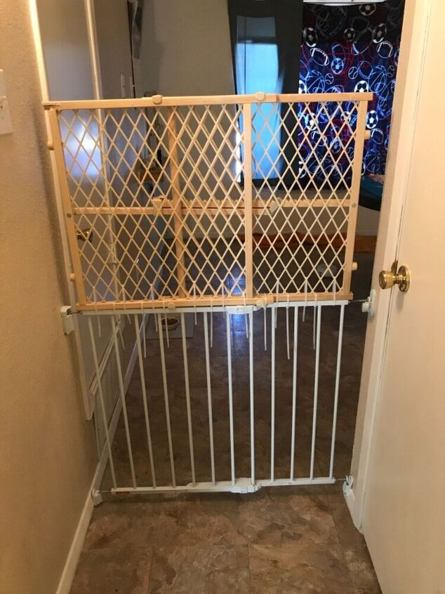 q solution for our baby gate situation