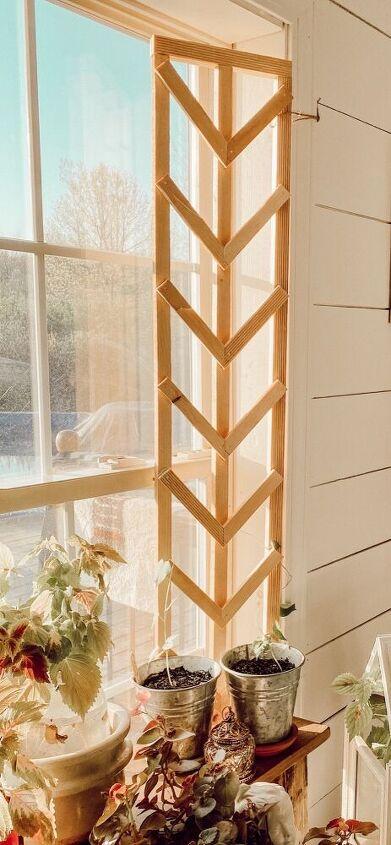 indoor outdoor mini plant trellis