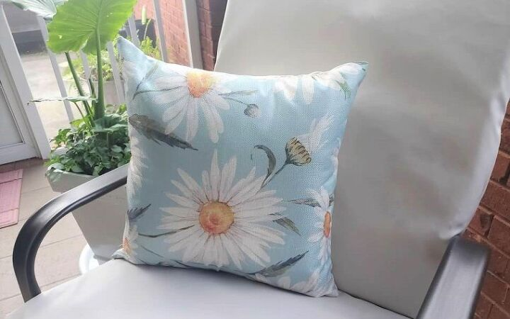 sew simple patio cushion tutorial