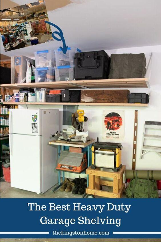 the best heavy duty garage shelving