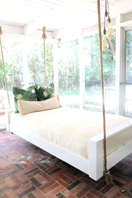 swinging bed for your porch