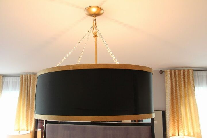 s 16 genius decor hacks that ll save you money, Make a cool drum shade chandelier