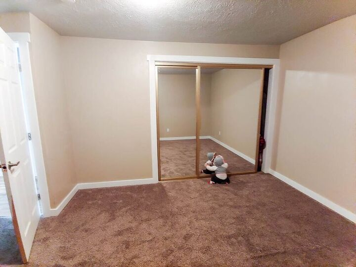 sliding closet door makeover and what i would do differently