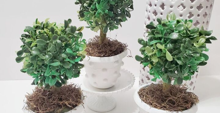 diy faux boxwood topiaries mcgee co inspired