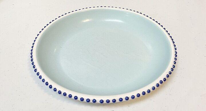diy kitchen pedestal dish