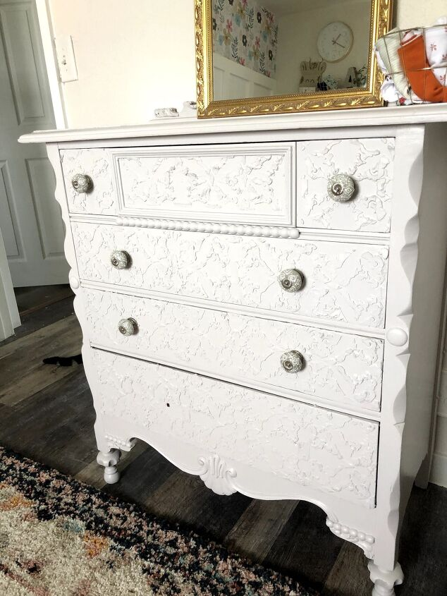s 13 creative ways to upgrade your boring furniture, Add texture to your dresser