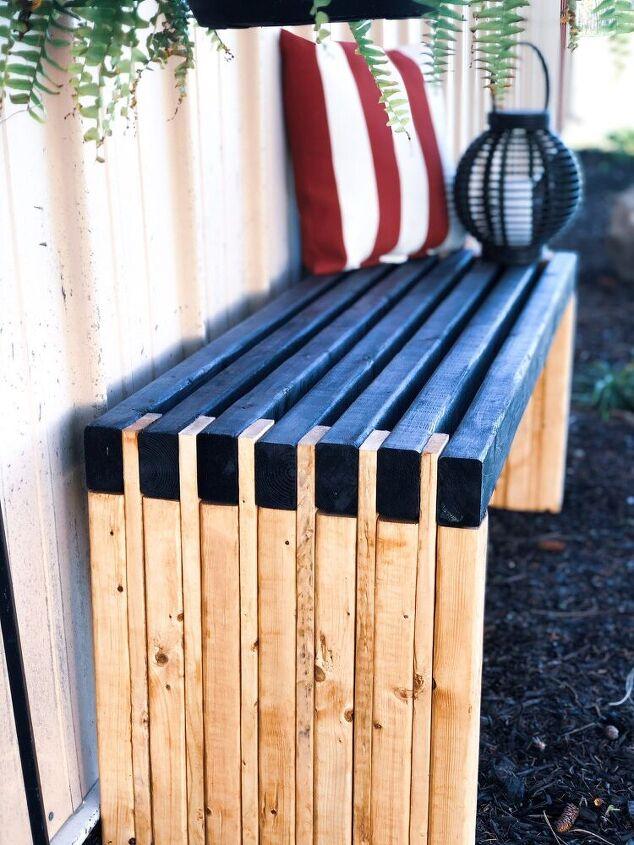 diy slat bench
