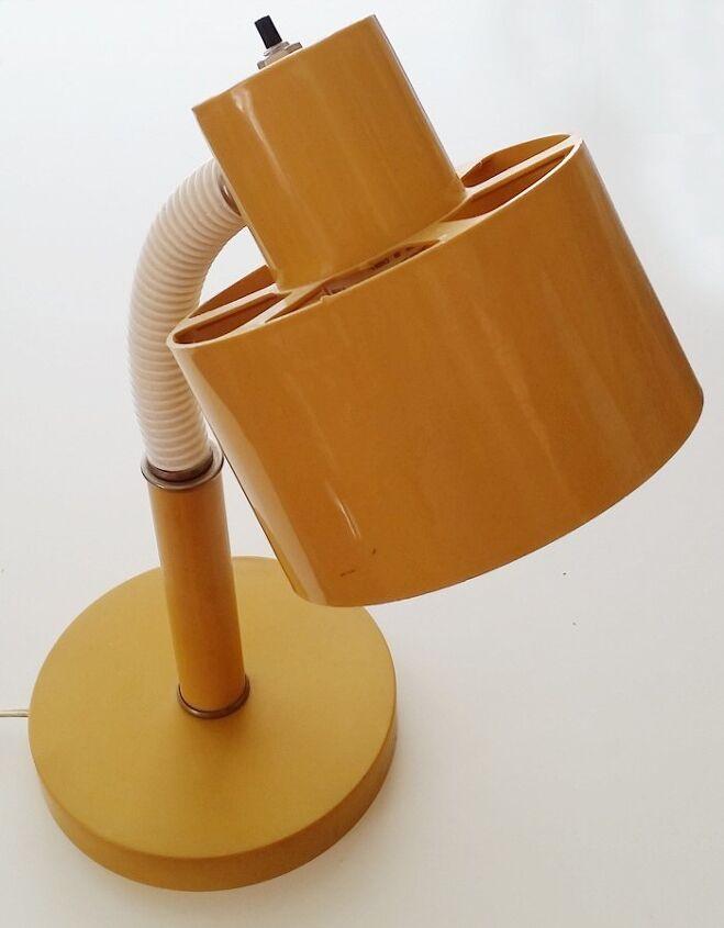 upcycled tacky disco bead lamp