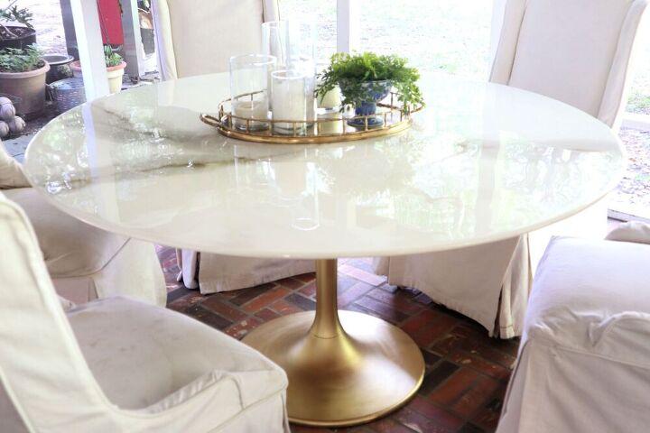 epoxy tulip table top