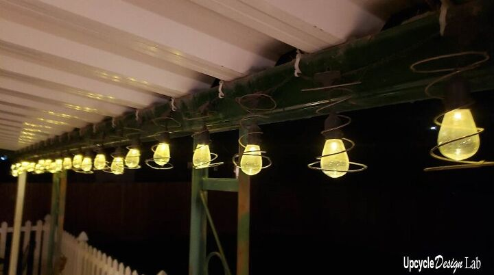 how to tear down a box spring for reuse box spring string lights