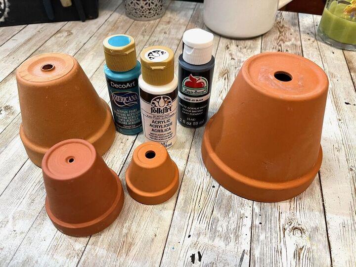 clay pot gnome garden