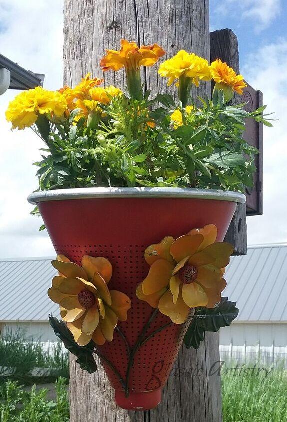 repurposed strainers fun diy