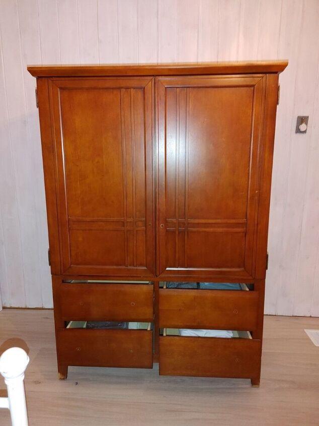 armoire rehab