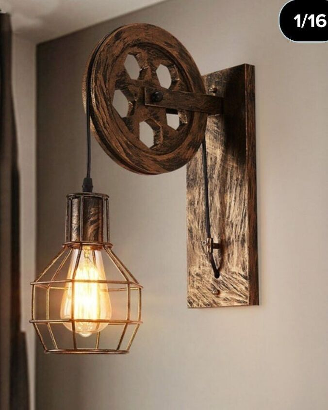 rustic steampunk night lamps