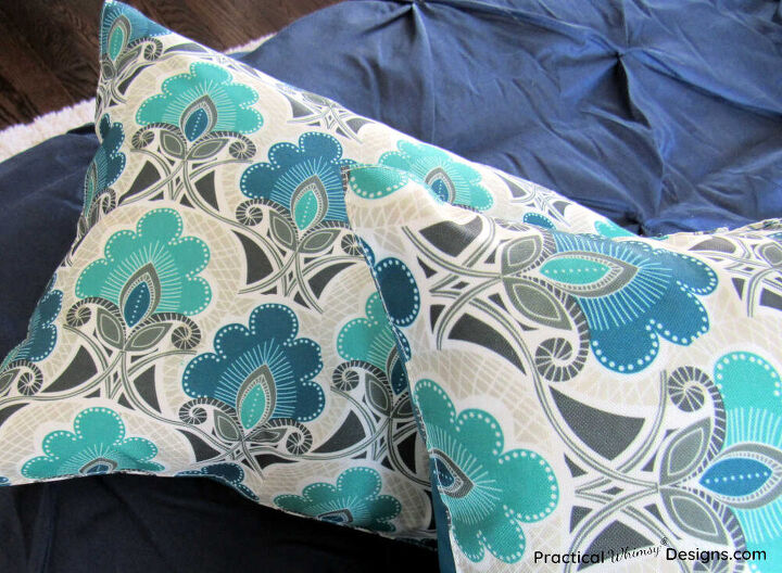how to make a pillow out of a placemat