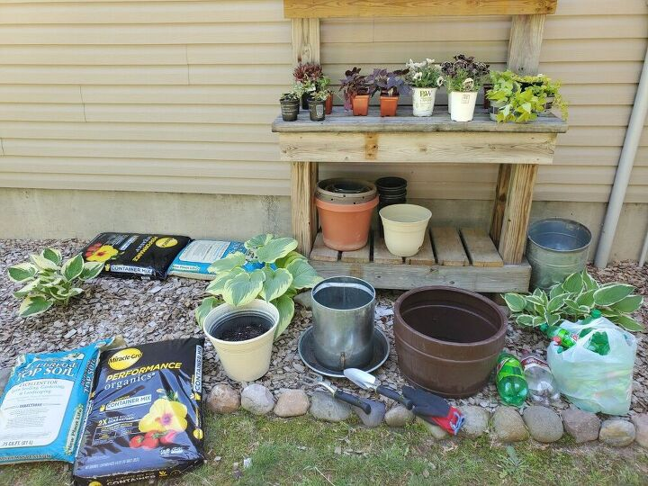 tips for planting a flower container