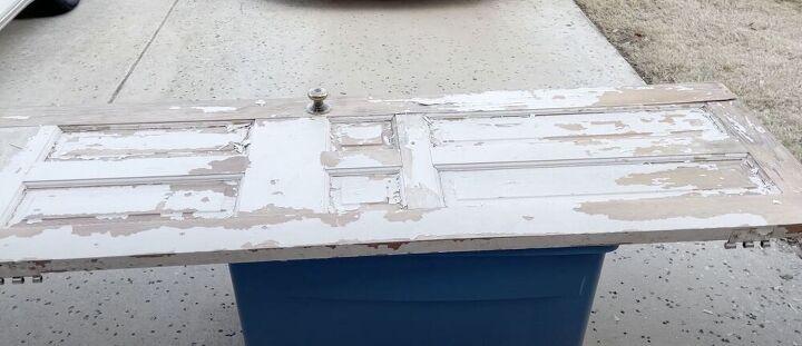 diy old door desk