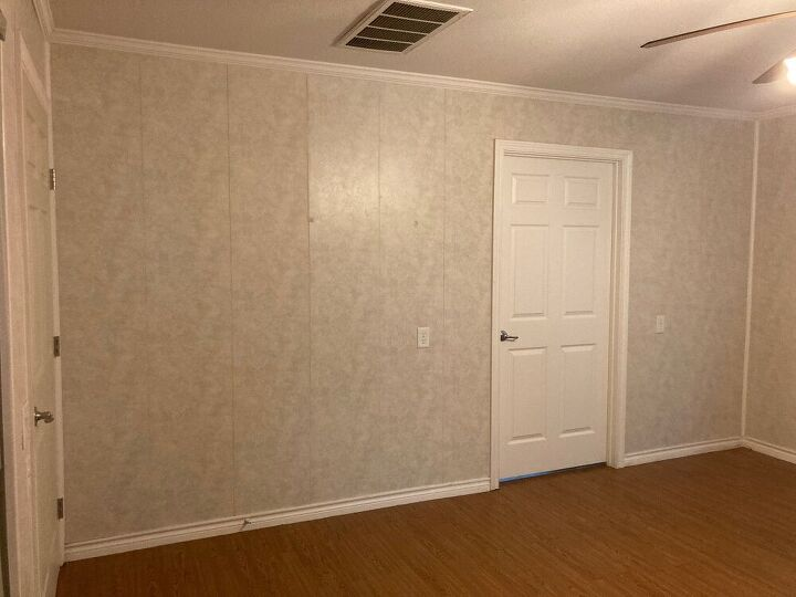 q how do i renovate tricky wall paneling
