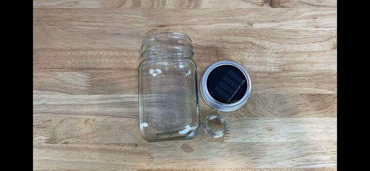 easy mason jar solar lights