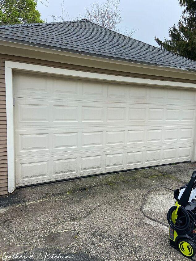 garage door makeover how to install carriage door hardware