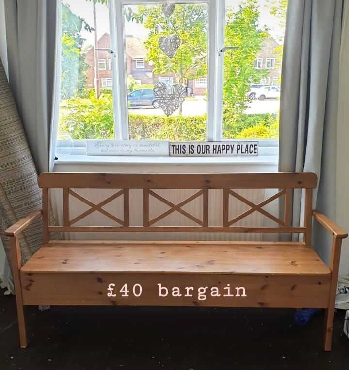 second hand bench, Facebook market place bench