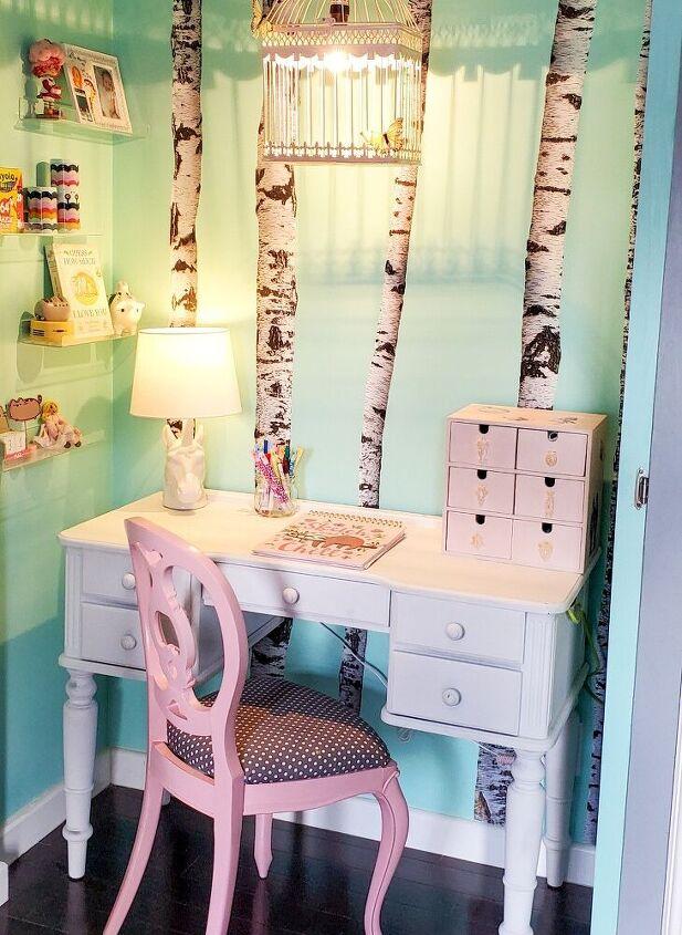 desk nook makeover
