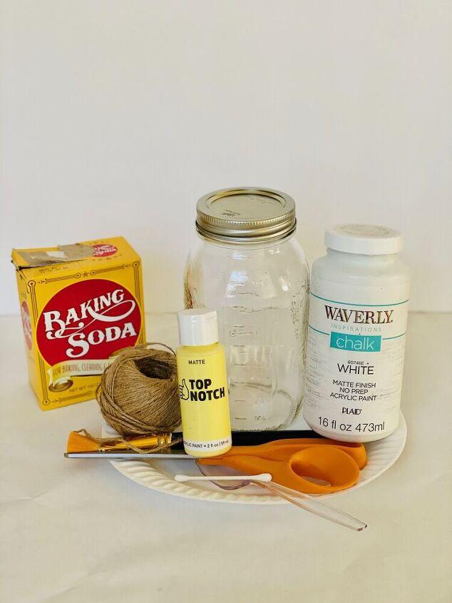 daisy mason jars chalk paint